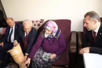 Yaşlı Teyzenin Protez Bacak İhtiyacını Başkan Başsoy Karşılayacak