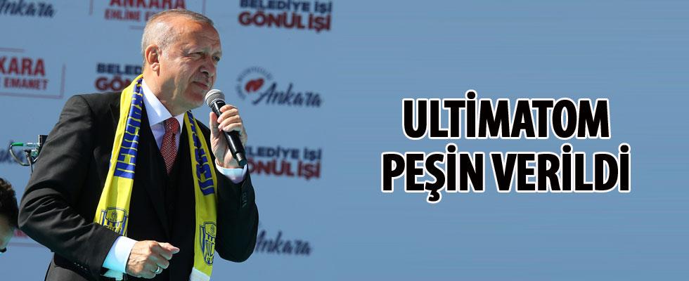 Ankara'da Cumhur İttifakı mitingi