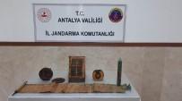 Antalya'da Altın İşlemeli 1400 Yıllık Kitaplar Ele Geçirildi