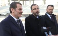 Bakan Kasapoğlu İstanbul'un En Büyük Buz Pisti İçin Tarih Verdi