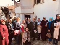 Başkan Can'ın Eşi Nesrin Can'dan Yaşlılara Ziyaret