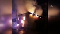 Denizli'de Yangın Çıkan Ev Kullanılamaz Hale Gedi