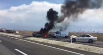 Diyarbakır'da Zincirleme Trafik Kazası Açıklaması 5 Yaralı