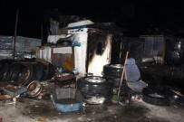 YENIKÖY - Oto Hurdacısında Çıkan Yangın Korkuttu