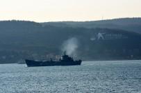 MARMARA DENIZI - Rus Savaş Gemisi Boğazdan Geçti