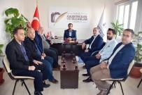 Turanlı'dan Kahta Gazeteciler Ve Yazarlar Cemiyetine Ziyaret