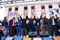 AK Parti'nin Bahşılı'daki Mitingine Binlerce Kişi Katıldı