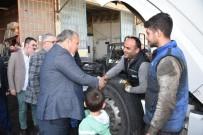 Başkan Çerçi Esnafı Ziyaret Etti Destek İstedi
