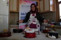 (Özel) Eğitim Aldı, Yaptığı Pastalarla Eşinin Pastanesindeki Maliyetleri Yüzde 60 Azalttı