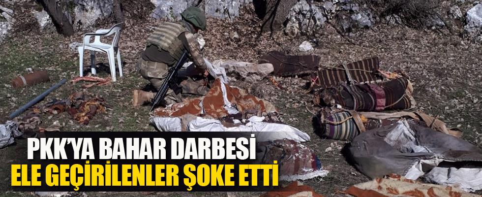 Şırnak'ta terör örgütü PKK'ya ağır darbe