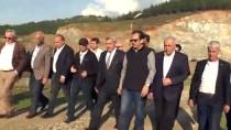 HÜSEYİN YAYMAN - Tahtaköprü Barajı'nda Set Yükseltme Çalışmaları Sürüyor