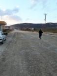 ELEKTRİK DAĞITIM ŞİRKETİ - Yolda Oluşan Toza Vatandaşlar Su İle Müdahale Ediyor