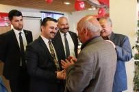AK Parti Şanlıurfa İl Başkanı Bahattin Yıldız Hilvan'da
