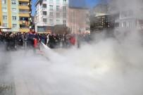 Altınordu Belediye Personeline Yangın Söndürme Eğitimi