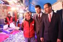 Bakan Kasapoğlu, Hamamyolu Esnafını Ziyaret Etti