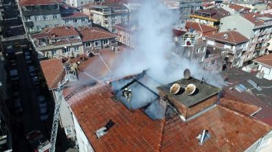 Güngören'de 5 Katlı Apartmanda Korkutan Yangın