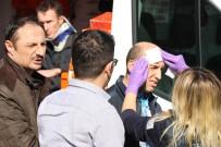 Hafif Ticari Araçla Otomobil Kafa Kafaya Çarpıştı Açıklaması 4 Yaralı