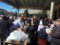 Hastane Güvenlik Görevlileri Merhum Arkadaşlarını Unutmadı