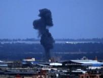 YAHUDI - İsrail Gazze'yi bombalıyor