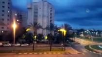 ROKET SALDIRISI - İsrail'in Başkenti Tel Aviv'in Kuzeyine Roket Düştü