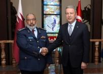 Milli Savunma Bakanı Akar, Katar Genelkurmay Başkanı'nı Kabul Etti