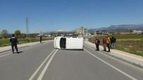 Şelale Yolunda 50 Metre Arayla İki Trafik Kazası Açıklaması 2 Yaralı