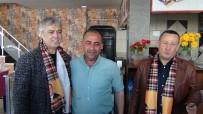 CENGİZ KURTOĞLU - Ünlü Sanatçı Cengiz Kurtoğlu, Kapı Kapı Dolaşıp AK Parti Adayına Destek İstedi