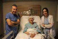 112 Yaşındaki Hasta, Kapalı Ameliyatla Böbrek Taşından Kurtuldu
