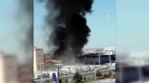 Aksaray'da İnşaat Malzemeleri Deposunda Yangın