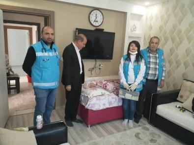 Başhekim Yardımcısından Evde Bakım Hastalarına Ziyaret