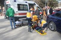 Bilecik'te Otomobil Yayaya Çarptı  Açıklaması 1 Yaralı