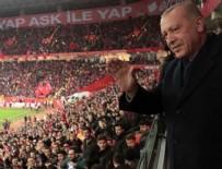 Cumhurbaşkanı Erdoğan'dan Eskişehirli taraftarlara müjde