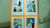 Doktorun Karikatürleri Hastane Koridorlarında Sergileniyor
