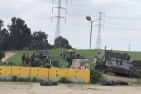 ZIRHLI ARAÇLAR - Gazze sınırında onlarca İsrail tankı konuşlandırıldı