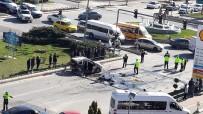 Kavşakta Korkunç Kaza Açıklaması 15 Yaralı