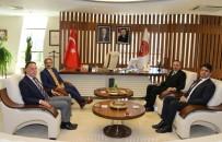 Nevşehir Belediye Başkanı Seçen'den Rektör Bağlı'ya Veda Ziyareti
