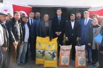 Ortaköy'de Üreticilere Yem Bitkisi Tohumu Dağıtıldı