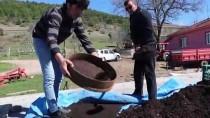 ORGANİK SEBZE - Solucan Gübresi Sayesinde Evinden Sebze-Meyve Çöpü Çıkmıyor