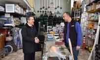 YAKUP SATAR - Başkan Ataç'ın Esnaf Ziyaretleri Sürüyor