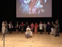 DENİZ BAYKAL - Kadın Öğretmenler, Dünya Tiyatro Gününde Şiddete 'Dur' Demek İçin Sahnede
