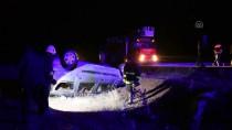 Ağrı'da Otomobil Şarampole Devrildi Açıklaması 5 Yaralı