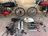 Çaldıkları Motosikletleri Parçalayıp Satan 6 Kişi Yakalandı