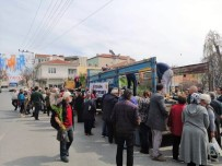 Pehlivanköy'de Fidan Dağıtımı