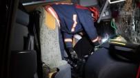 TEM'de Aşırı Sis Zincirleme Kazaya Neden Oldu Açıklaması 1 Yaralı