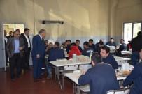 İSMAIL BILEN - Başkan Çerçi OSB'deki İşçilerle Buluştu