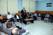 ŞEHİT BABASI - Başkan Öztürk'ten Eğitimcilere Ziyaret