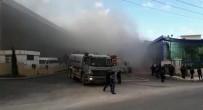 LODOS - Bursa'da Fabrika Yangını
