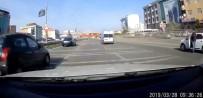 (Özel) Trafikte Yarışan Aracın Karıştığı Kaza Kamerada