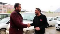 REYHANLI - Türkiye'de Çalınan Araçlar Afrin'de Bulundu