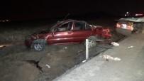 Aşırı Alkol Alan Sürücü Kaza Yaptı Açıklaması 4 Yaralı